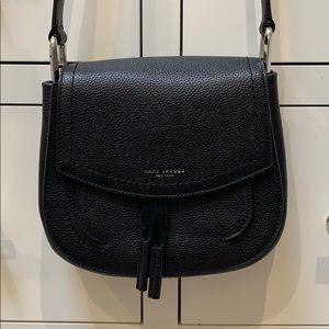 Black Marc Jacobs cross body leather bag